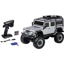 Carson Modellsport Land Rover Defender Argento 1:8 Automodello Elettrica Fuoristrada 4WD RtR 2,4 GHz