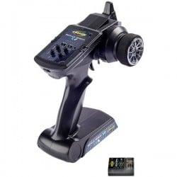 Radiocomando con impugnatura a pistola Carson Modellsport FS Reflex X2 2,4 GHz Numero canali: 2