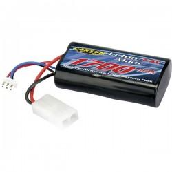 Carson Modellsport Batteria ricaricabile LiPo 7.4 V 1700 mAh Numero di celle: 2 Softcase Tamiya