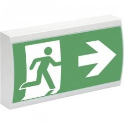 CEAG 40071349399 Indicazione via di fuga illuminata a LED Montaggio a soffitto, Montaggio a sospensione, Montaggio con
