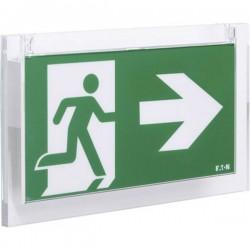 CEAG 40071354595 Indicazione via di fuga illuminata a LED Montaggio a soffitto, Montaggio a parete verso lalto, verso