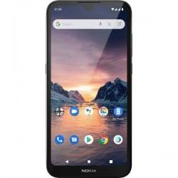 Nokia 1.3 Smartphone LTE dual SIM 16 GB 5.71 pollici (14.5 cm) Dual-SIM Android 10 8 MPixel Carbone