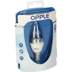 Opple LED (monocolore) Classe energetica A (A++ - E) E14 Candela 4.5 W 25 W Bianco caldo (Ø x L) 36 mm x 102 mm 1 pz.