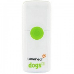 Weenect Dogs Tracciatore GPS (Tracker) Tracker animali Bianco