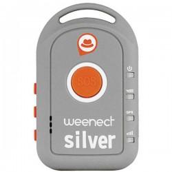 Weenect Silver Tracciatore GPS (Tracker) Tracker persone Grigio
