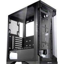 Raijintek Silenos Pro A-RGB Midi-Tower PC Case da gioco Nero 3 ventole LED pre-montate, finestra laterale, filtro per la