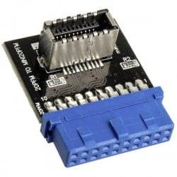 Raijintek USB 3.0 20 Pin to USB Mini 20 Pin Frontpanel USB Typ C Adapter Mainboard