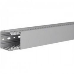 Hager BA760060 Canale porta cavi (L x L x A) 2000 x 60 x 60 mm 1 pz. Grigio Pietra
