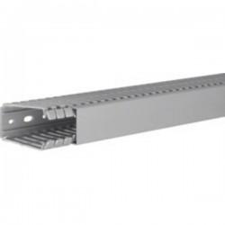 Hager BA780040 Canale porta cavi (L x L x A) 2000 x 40 x 80 mm 1 pz. Grigio Pietra