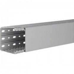 Hager BA780080 Canale porta cavi (L x L x A) 2000 x 80 x 80 mm 1 pz. Grigio Pietra