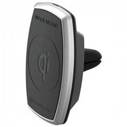 Scosche Caricatore a induzione 2000 mA MagicMount Pro Vent MPQ2V-XTSP Uscite Standard Qi Nero, Argento