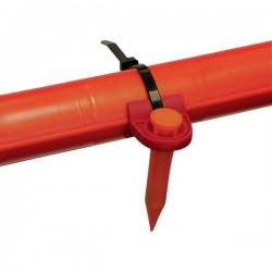 Sensore Tempo Communications SM-09 55500102 SM-09 pennarello, rosso per linee elettriche, 169 KHZ - 50 pezzi -