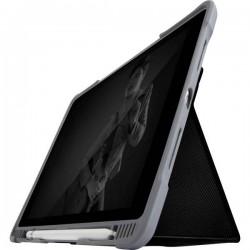 STM Goods Custodia per iPad Custodia a libro Adatto per modelli Apple: iPad Air 10.5, iPad Pro 10.5 Nero (trasparente)