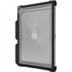 STM Goods Custodia per iPad OutdoorCase Adatto per modelli Apple: iPad 10.2 (2019) Nero (trasparente)