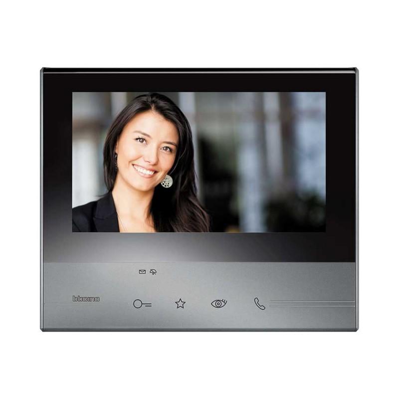 Bticino 344613 videocitofono touch screen classe 300 2 fili for Citofono bticino prezzo
