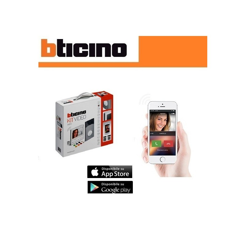kit wireless videocitofono bticino 363911 prezzo offerta vendita online