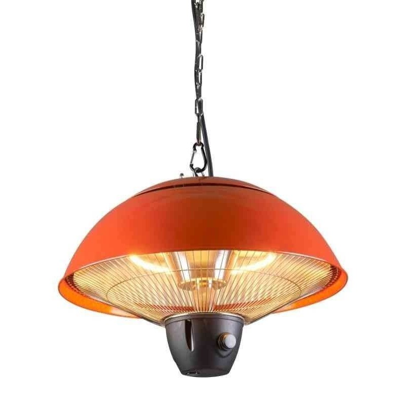 Stufa elettrica a infrarossi da soffitto 1500w cfg queensland for Stufe elettriche a basso consumo bimar