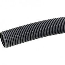 Tubo corrugato Nero 6.50 mm LAPP 61747081 SILVYN® RILL PA6 LL 7/6,5x10 BK 10 m