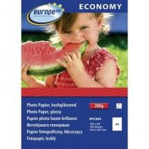 Carta fotografica Europe 100 Economy Photo Paper Glossy EPC004 DIN A4 100 Foglio Super lucida