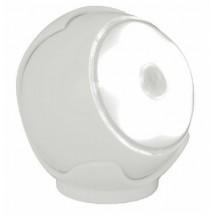 Lampada Led Torcia Portatile Arteleta, colore bianco bianca bubble, con sensore crepuscolare incluso.