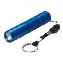 mini torce a led con gancio appendibile colore blu arteleta