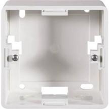 Telaio da parete Setec Rahmen für Netzwerkdose Bianco perla