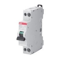 Interruttore Magnetotermico 16A 1P+N 4,5ka Abb SN201LC16 - SN201 L C16