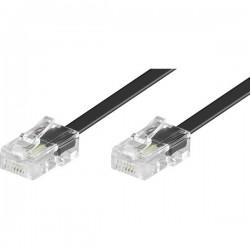 Cavo ISDN [1x Spina RJ45 8p4c - 1x Spina RJ45 8p4c] 3.00 m Nero Basetech