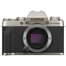 Fujifilm X-T200 + XC15 Fotocamera digitale 24.2 MPixel Oro Video 4K, Flash, Bluetooth, Video Full HD, WiFi