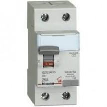 Interruttore Differenziale Puro Salvavita Bticino 40A 30mA 2 Poli Ac