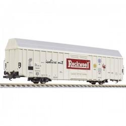 N vagone merci per grandi spazi Hbbks Rockwool della DB Liliput L265802 L265802