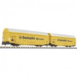 Vagone merci Dunlopillo N 2 della DB Liliput L260160 L260160