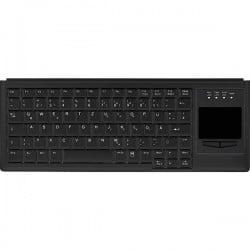Active Key AK-4400-GU-B/US USB Tastiera Inglese US, QWERTY, Windowsョ Nero Superfice touch, Tasti del mouse AK-4400-GU-B/US
