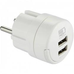 Maxtrack NVU 1 L Caricatore USB Presa di corrente 2 x USB NVU 1 L