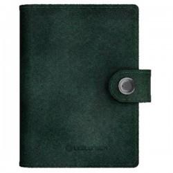 Ledlenser Portafoglio Lite-Wallet Matte (L x L x A) 97 x 74 x 24 mm Verde scuro 502398 502398