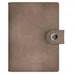 Ledlenser Portafoglio Lite-Wallet Matte (L x L x A) 97 x 74 x 24 mm Grigio-marrone 502401 502401
