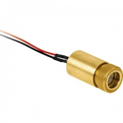 Laser Components Modulo laser croce Rosso 3 mW LC-LMP-635-245-03-A 3022168