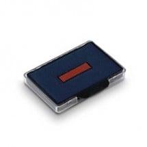 Trodat Cuscinetto per timbri manuali 6/56/2 83493 56 x 33 mm (L x A) Blu-rosso 2 pz.
