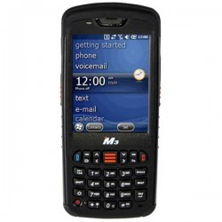 M3 Mobile BK10 Scanner bar code 2D WiFi, Bluetoothョ 1D, 2D Imager Nero Scanner computer portatile Bluetooth, Wi-Fi 4 BK100N-W20
