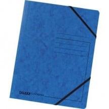 Falken Cartellina con elastici 11286473 DIN A4 Blu 1 pz.