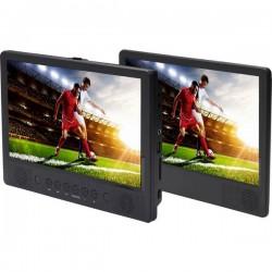 Denver MTW-1086 Lettore DVD per poggiatesta con 2 monitor Diagonale schermo 25.65 cm (10.1 pollici) 110111330030