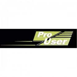 ProUser Telecamera di retromarcia senza fili apertura F2.0 Ventosa 16218