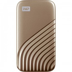 SanDisk WDBAGF0020BGD-WESN Memoria SSD esterna 2,5 2 TB Oro USB-C™ WDBAGF0020BGD-WESN