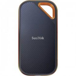 SanDisk SDSSDE81-2T00-G25 Memoria SSD esterna 2,5 2 TB Nero, Arancione USB SDSSDE81-2T00-G25