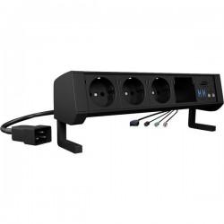 ICY BOX IB-TS301-5 Lettore hub per schede di memoria esterno USB 3.2 (Gen 1), USB-C™, Cuffie (jack da 3,5 mm), Microfono 60489