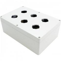 Hammond Electronics 1554PB6A Contenitore universale 240 x 160 x 90 Policarbonato Grigio 1 pz. 1554PB6A