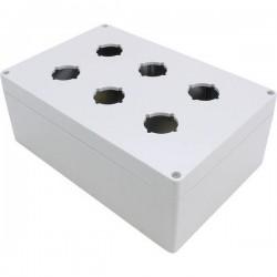 Hammond Electronics 1554PB6 Contenitore universale 240 x 160 x 90 Policarbonato Grigio 1 pz. 1554PB6