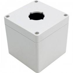 Hammond Electronics 1554PB1A Contenitore universale 90 x 90 x 90 Policarbonato Grigio 1 pz. 1554PB1A
