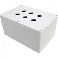 Hammond Electronics 1554MPB6B Contenitore universale 240 x 160 x 120 Policarbonato Grigio 1 pz. 1554MPB6B