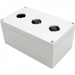 Hammond Electronics 1554PB3 Contenitore universale 200 x 120 x 90 Policarbonato Grigio 1 pz. 1554PB3